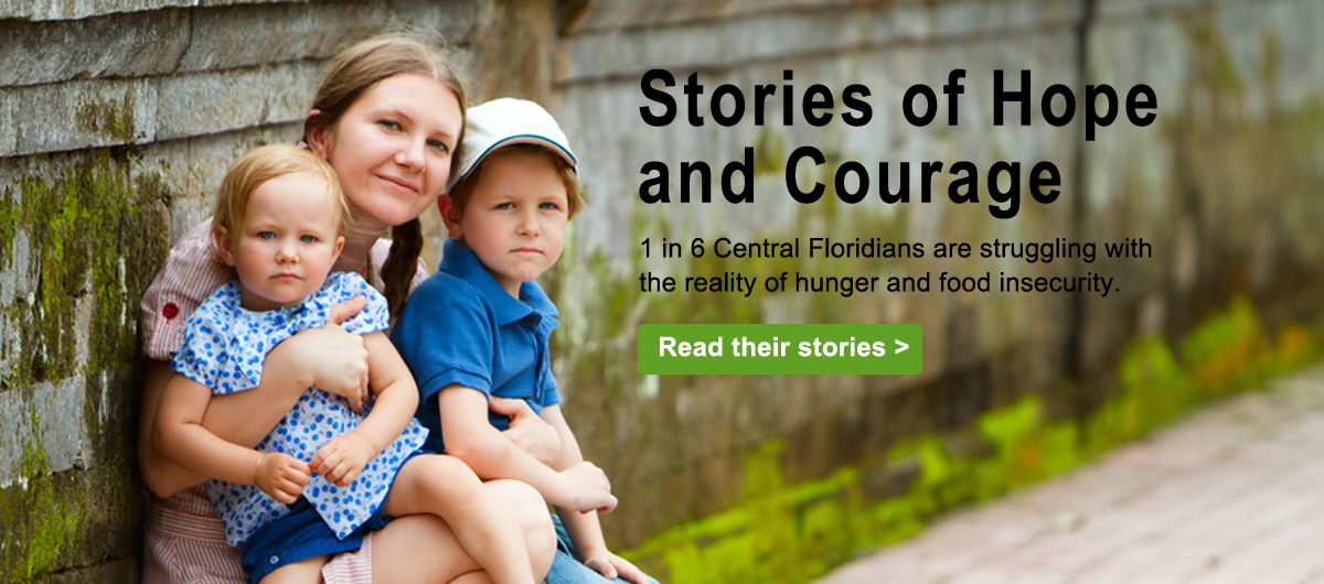 Read our stories of Hope and Courage